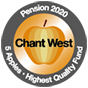 Chant West 2020 5 Apples Gold rating
